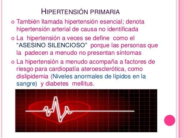 Valoracion y tratamiento de pacientes con hipertension