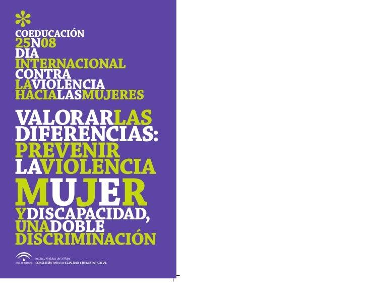 edición       ©Instituto Andaluz de la Mujer        Consejería para la Igualdad             y Bienestar Social          JU...