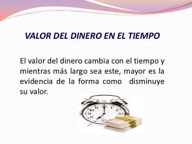 Valor del dinero en el tiempo - El tiempo en l olleria ...