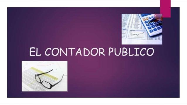 EL CONTADOR PUBLICO