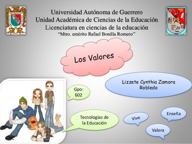 """Universidad Autónoma de Guerrero Unidad Académica de Ciencias de la Educación Licenciatura en ciencias de la educación """"Mt..."""