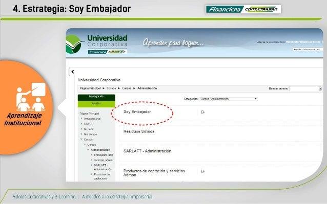 4. Estrategia:  Soy Embajador ¡es                                                       Espa-ini .  rnunmw reir  Universid...