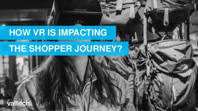 HOW VR IS IMPACTING THE SHOPPER JOURNEY?
