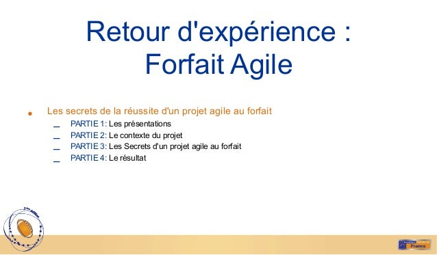 5 Les présentations§ Pascal GRUAU :  Chef de projet à la DSI de SITA SPECIALITES> Proxy Produ...