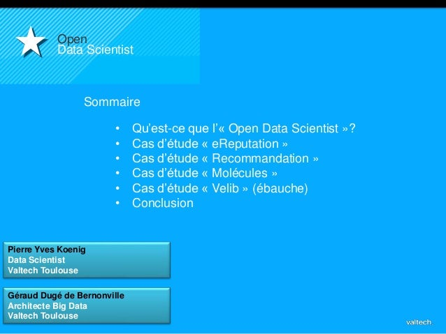 Valtech - Big Data en action Slide 2