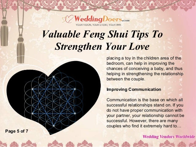 Enjoyable Valuable Feng Shui Tips To Strengthen Your Love Complete Home Design Collection Barbaintelli Responsecom