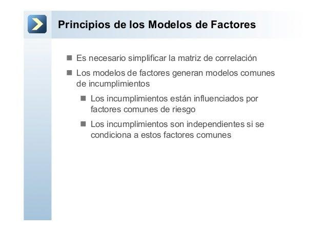 Principios de los Modelos de Factoresn Es necesario simplificar la matriz de correlaciónn Los modelos de factores gene...