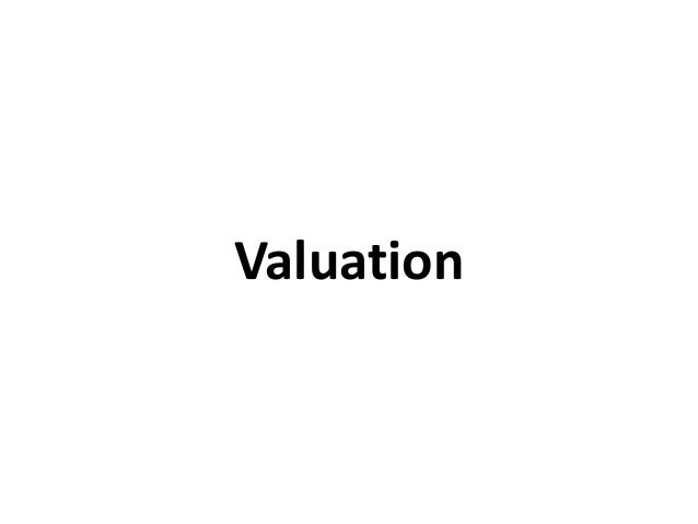 Pdf estimating rangwala by costing valuation and