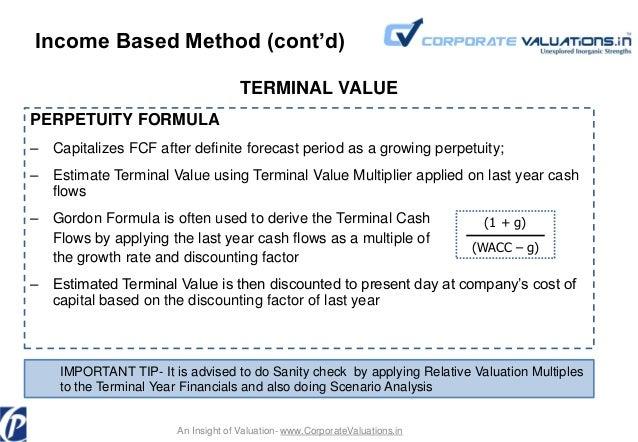 net present value risk modelling method pdf