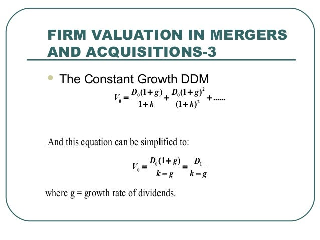 firm valuation Accounting and cpa practice valuations  a profitability measure is a must in the valuation of a firm as it relates to where the firm gets priced in the multiple.