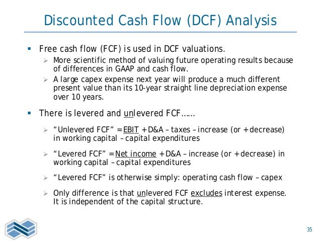 valuation presentation
