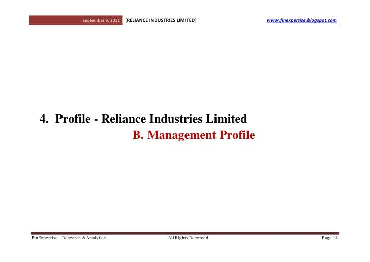 research on reliance group of industries In order to access the sectors and industries, please log on to your td ameritrade account or open an account  or for any actions taken in reliance on any content .