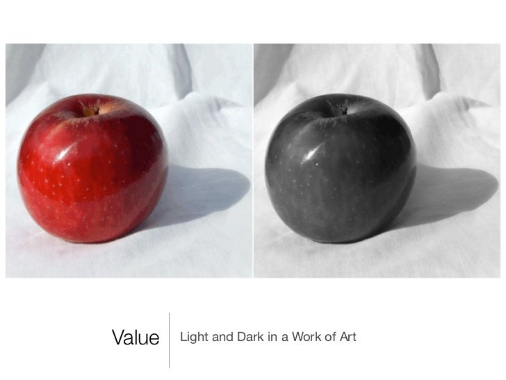 Value   Light and Dark in a Work of Art