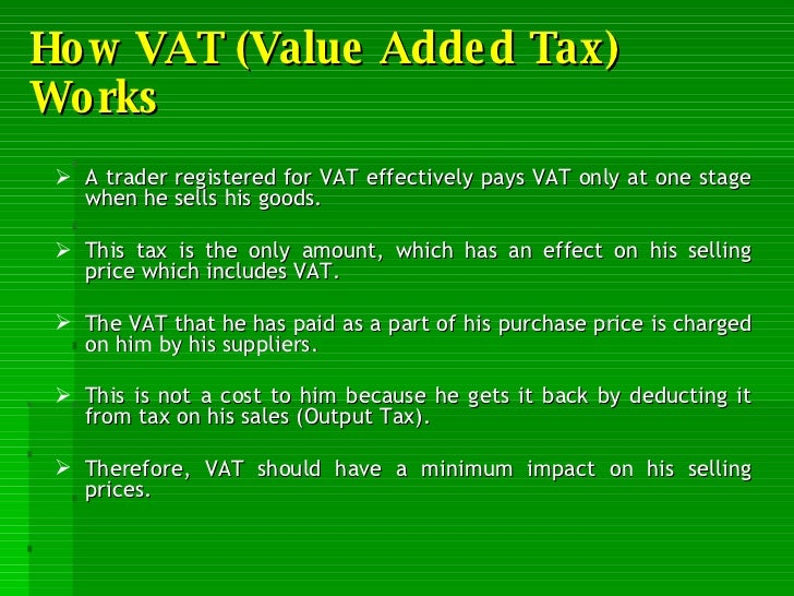 Value Added Tax (VAT) in Canada