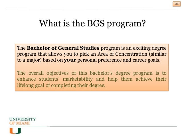 The Value And Steps To A Bachelor Of General Studies