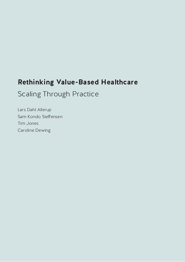 Value based healthcare 2020 Slide 3