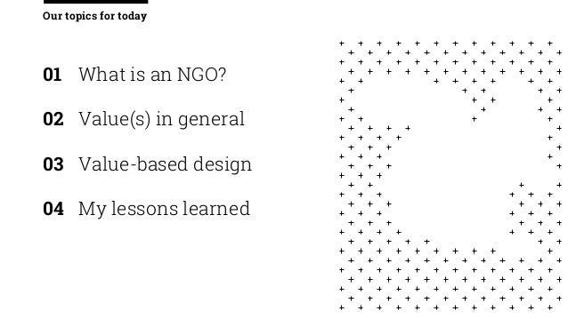 Value-based service design for NGO's Slide 2