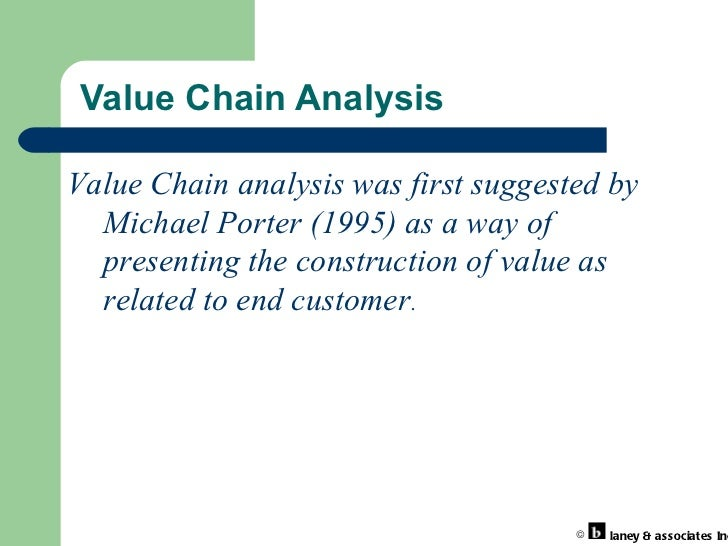 value chain analysis airasia Value chain analysis is a technique that yields value improvement there are two components of value chain analysis: the industry value chain and the company's.