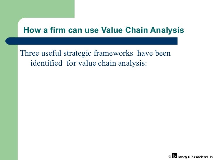 sainsburys value chain analysis This is a minor case study sample on 'strategic framework models: value chain analysis of sainsbury' for students written by an expert of assignment prime.
