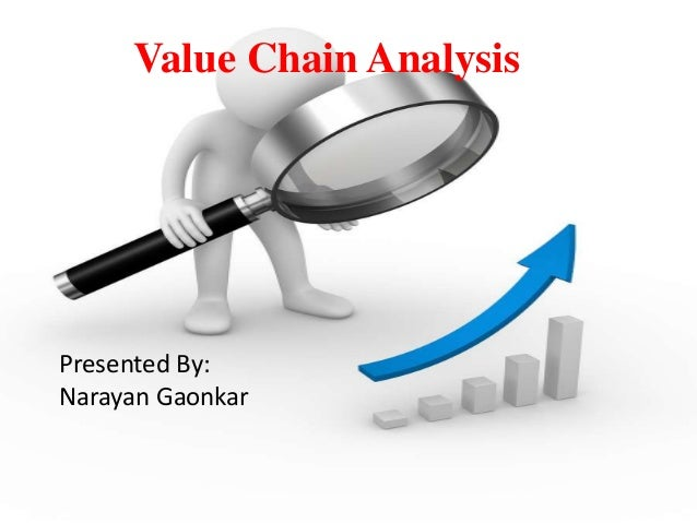 Value Chain Analysis  Presented By:  Narayan Gaonkar