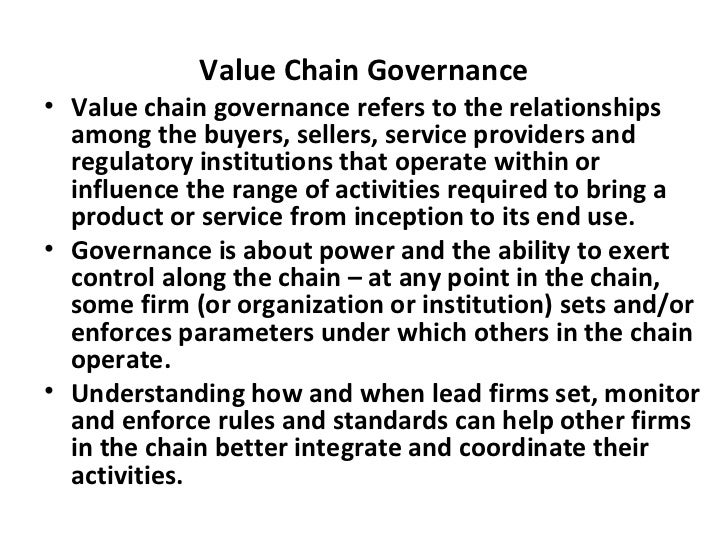 Value Chain Methodology Potential Use By The Ethiopian Livestock Fee