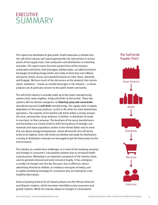 soft drink industry value chain The report considers key trends that will impact the industry and profiles the leading suppliers of the russia soft drink packaging market  45 industry value chain analysis  47.