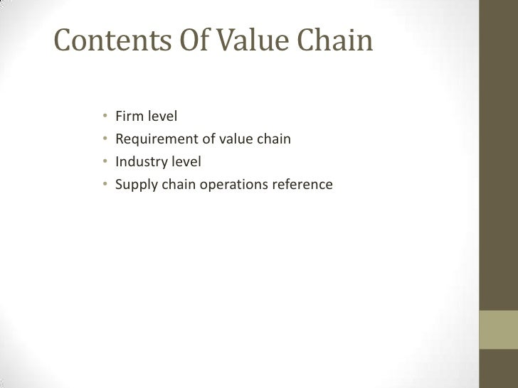 value chain general electric Porter's value chain model   general electric approach 18 3  documents similar to customer value and satisfactionpdf.