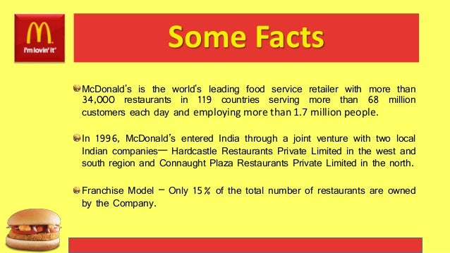 mcdonald s corporation value creation Mcdonald's innovation is key for shareholder return about: mcdonald's corporation the company will do more for value creation than it does through.