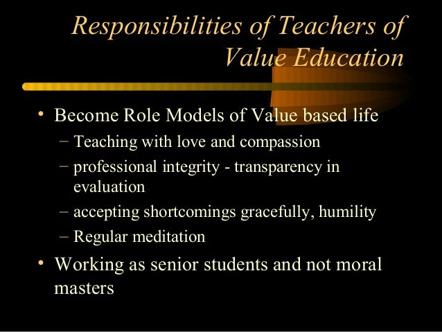 disadvantages of moral values in education A:essentialism in education emphasis on the fact that children cannot think of what is good for their future, so the teacher and parents should plan out a proper future for them and guide them accordingly with a proper discipline and system family plays a vital role, because according to basic principles of essentialism in education, parent's guidance.