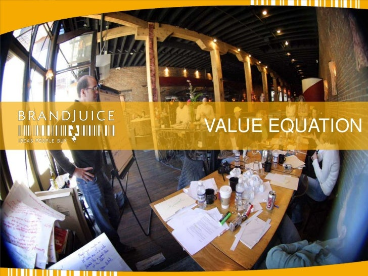 VALUE EQUATION<br />