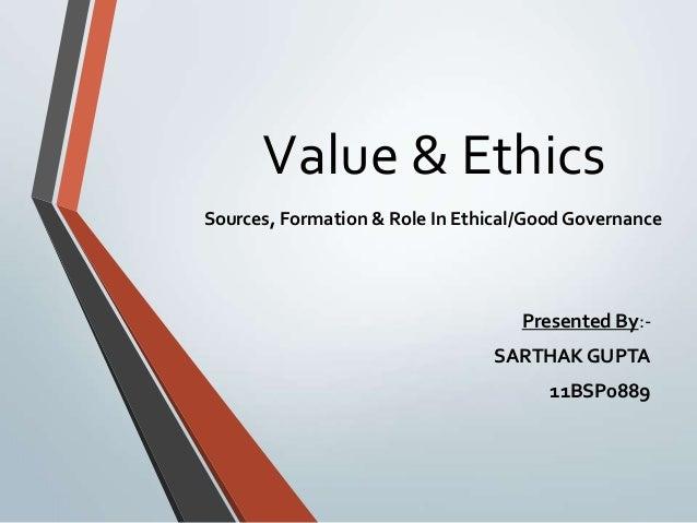 essay on ethics and values pdf
