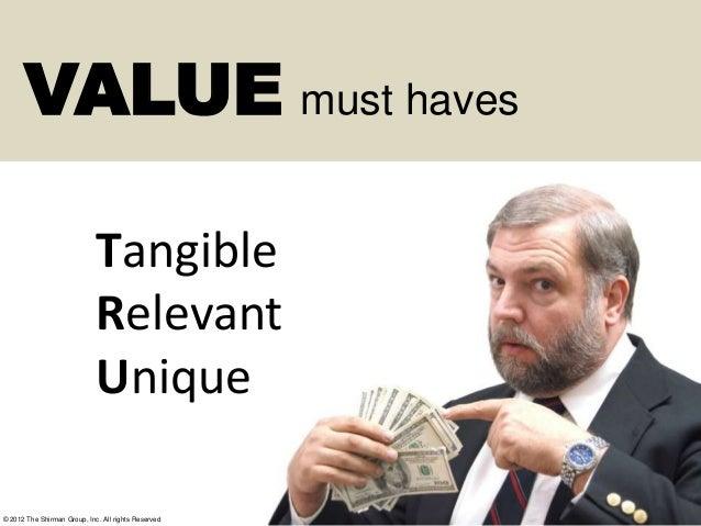 Context Driven Value Messaging Framework Slide 2