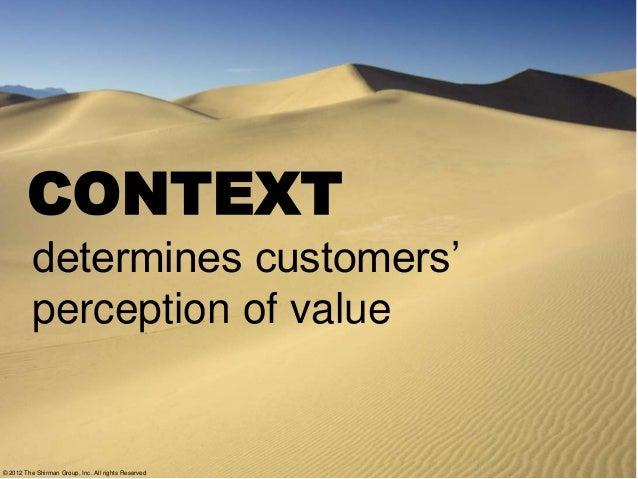 Context Driven Value Messaging Framework Slide 3