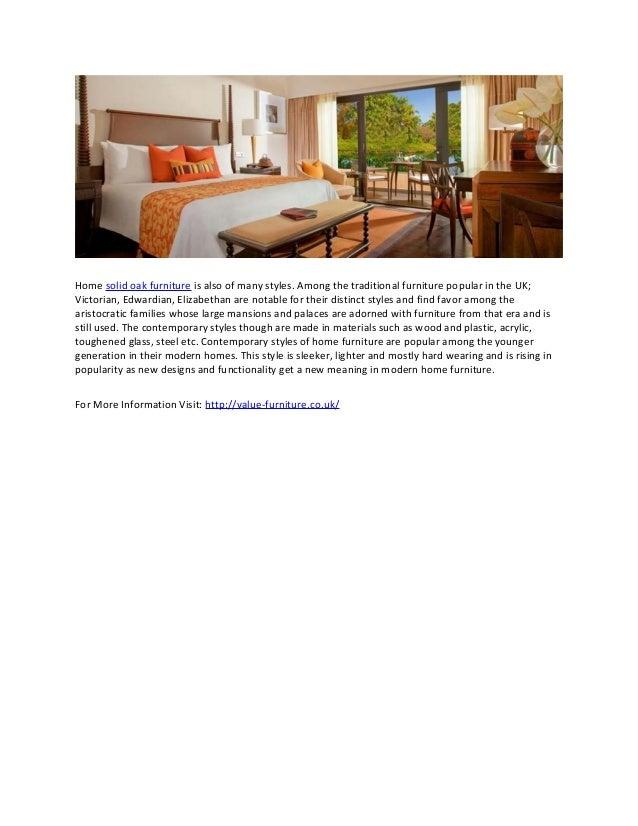 2. Home Solid Oak Furniture ...