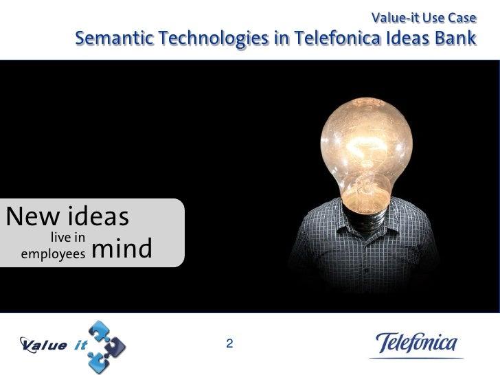 Semantic technologies to manage ideas Slide 2