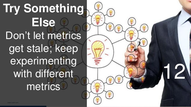 www.luxoft.com Try Something Else Don't let metrics get stale; keep experimenting with different metrics 12