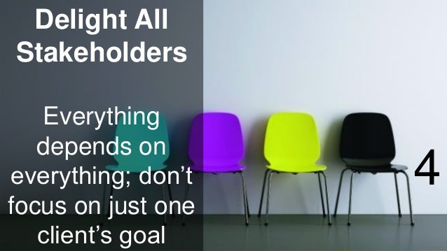 www.luxoft.com Delight All Stakeholders Everything depends on everything; don't focus on just one client's goal 4