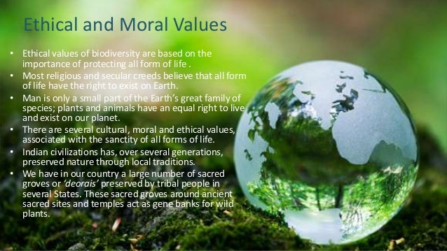 article on need of moral values in ones life Is reverence for life a moral value (principle) we have no reverence for the lives of flies and in order to preserve one life we need to kill another.