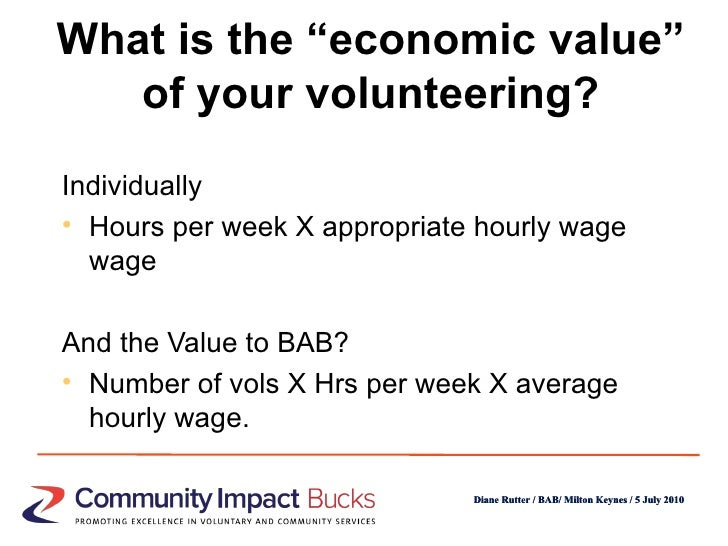 Putting a value on volunteering in the age of austerity