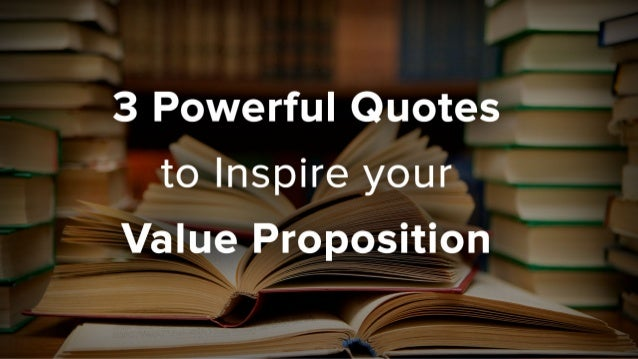 Need Help Formulating your Value Proposition?