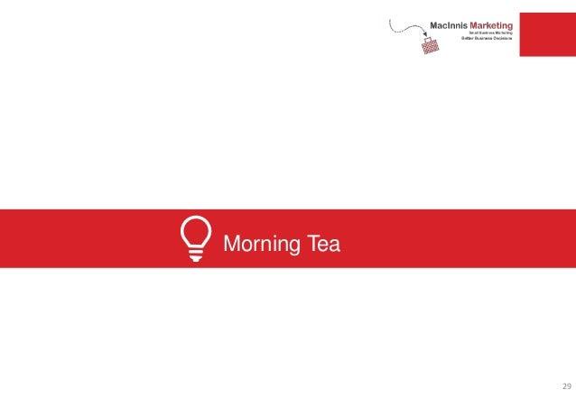 Morning Tea 29