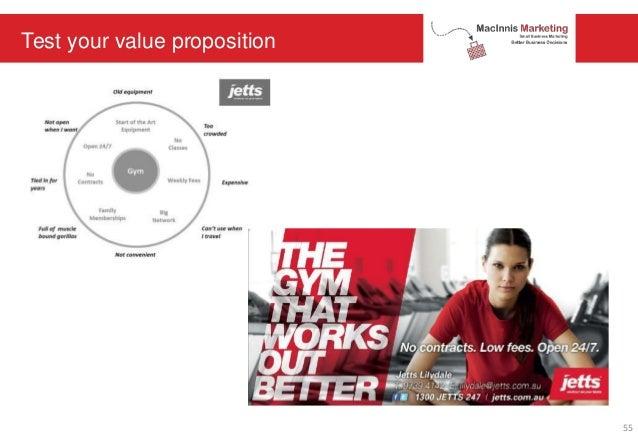 Test your value proposition 55