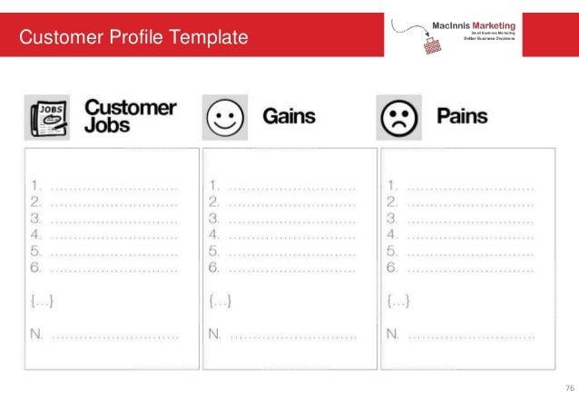 Customer Profile Template 76