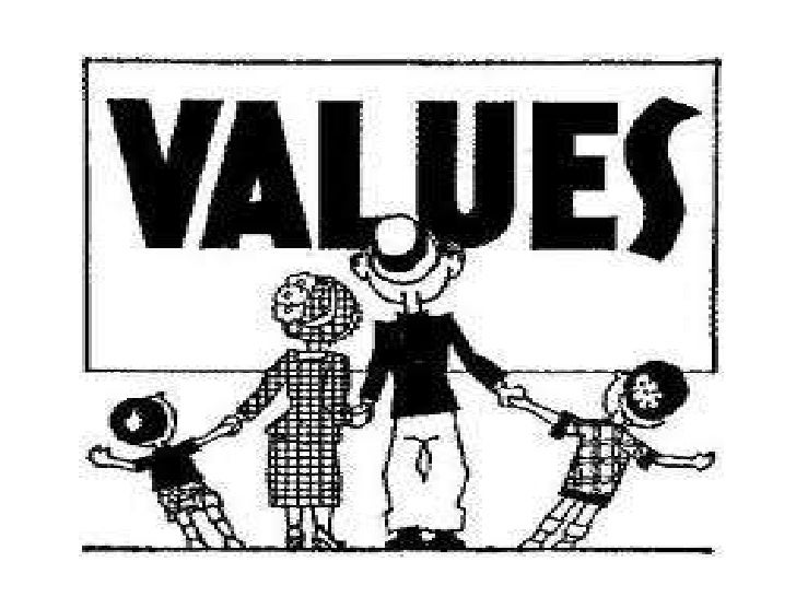 Values    Values represent basic convictions that-A specific mode of conduct or end-state of existence ispersonally or soc...