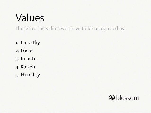 Culture at Blossom Slide 3