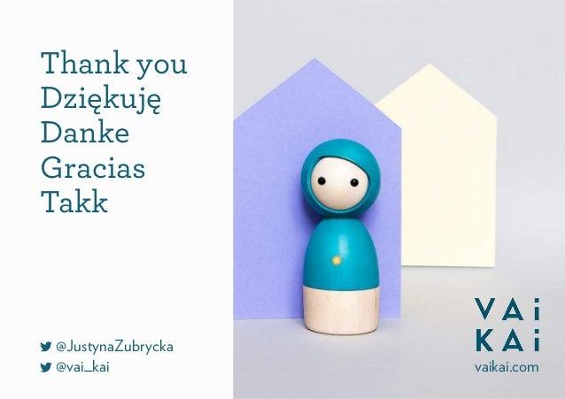 Thank you Dziękuję Danke Gracias Takk @JustynaZubrycka @vai_kai vaikai.com
