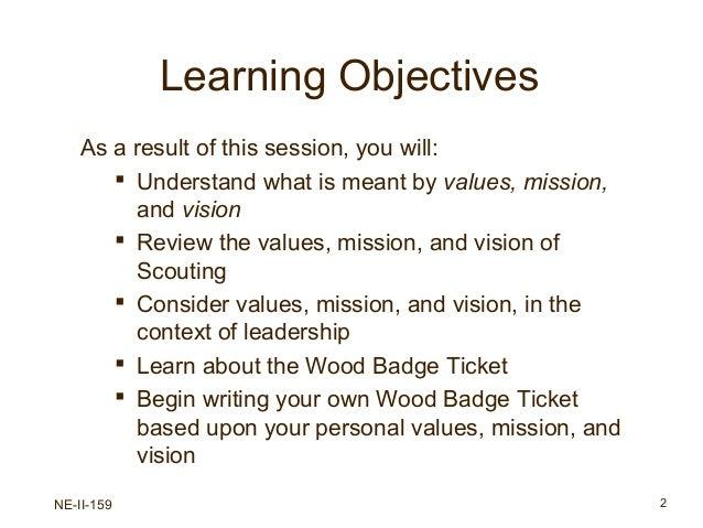Values Missionvision