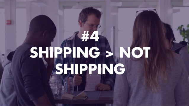 #4 SHIPPING > NOT SHIPPING