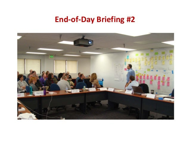 End‐of‐DayBriefing#2