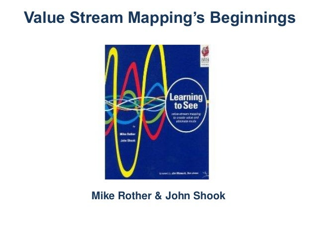 Value Stream Mapping's Beginnings  Mike Rother & John Shook
